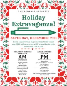 The Bookman Holiday Extravaganza @ The Bookman | Grand Haven | Michigan | United States